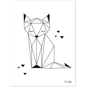 affiche-origami-renard-1